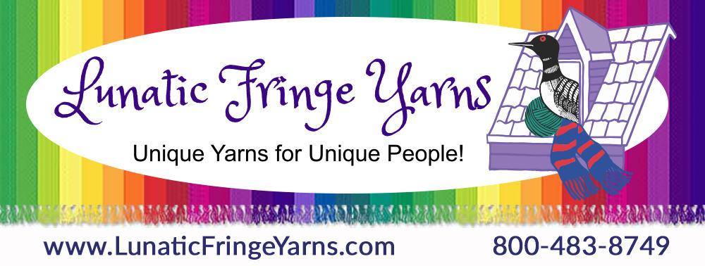Lunatic Fringe Yarns Logo
