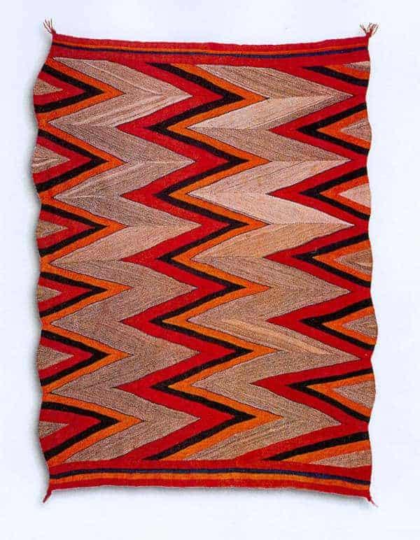 navajo diyugi is an example of wedge weave