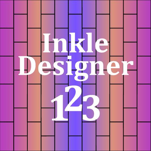 Inkle Designer 1-2-3 logo